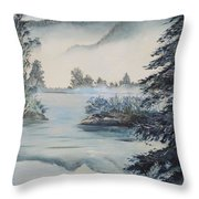 Double The View Throw Pillow