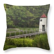 Doubling Point Range Lights Throw Pillow