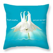 Doubt Everything - Find Your Own Light Throw Pillow