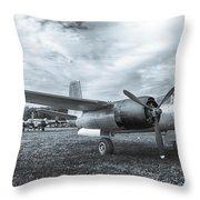 Douglas A-26 Invader 3770b Throw Pillow