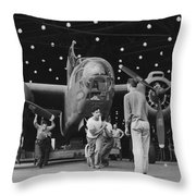 Douglas A20 Bomber Throw Pillow