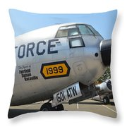 Douglas C-133 Cargomaster Throw Pillow