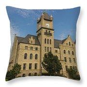 Douglas County Courthouse 4 Throw Pillow