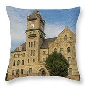Douglas County Courthouse 5 Throw Pillow
