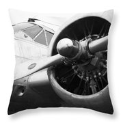 Douglas Dc-3 Throw Pillow