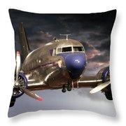 Douglas Dc 3 Throw Pillow