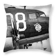 Douglass C-47 Skytrain - Nose Section - Dakota Throw Pillow