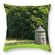 Dovecote At Swainsley Near Warslow Throw Pillow