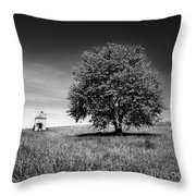 Dovecote. Auvergne. France Throw Pillow by Bernard Jaubert