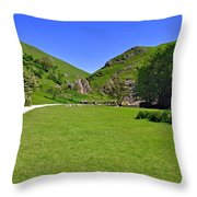 Dovedale - Stepping Stones Area Throw Pillow