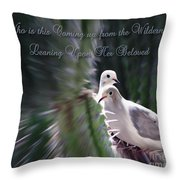 Love Doves Throw Pillow