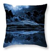 Dovestones Night Sky Throw Pillow