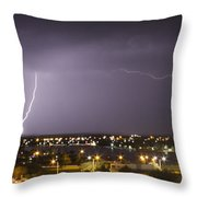 Down And Across Throw Pillow