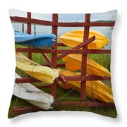 Down By The Bay Throw Pillow