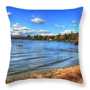 Lake District In Great Britain Throw Pillow