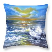 Down Came The Sun  Throw Pillow