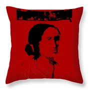 Down From The Mountain Throw Pillow by Johanna Elik