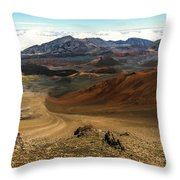 Down Into The Creator Throw Pillow