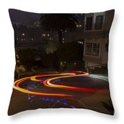 Down Lombard Throw Pillow