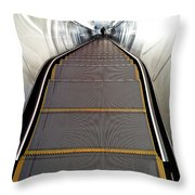 Down Perspective Throw Pillow