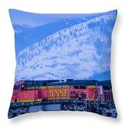 Down The Kootenai  -  150111a-075 Throw Pillow
