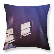 Down The Stairs Throw Pillow