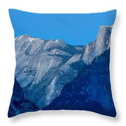 Down The Valley Yosemite Throw Pillow