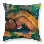 Down To Earth Up To Me Throw Pillow