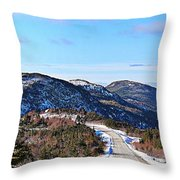 Down To The Sea - Oceanview - Hillview Throw Pillow