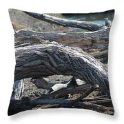 Down Tree Arch Throw Pillow