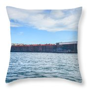 Downbound At Mission Point 2 Throw Pillow