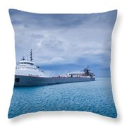 Downbound Throw Pillow