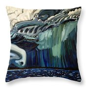 Downburst Throw Pillow