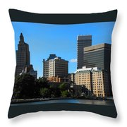 Downcity Throw Pillow