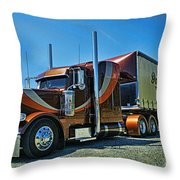 Downton's Transport Catr3117-13 Throw Pillow