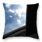 Downtown Abstract Throw Pillow