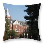 Downtown Annapolis Throw Pillow