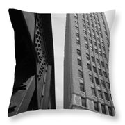 Downtown Architecture Throw Pillow
