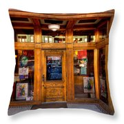 Downtown Athletic Club - Prescott Arizona Throw Pillow