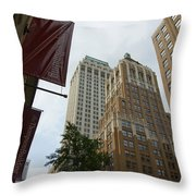 Downtown Canyon Throw Pillow