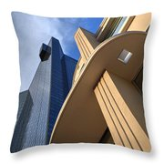 Downtown Fort Worth Throw Pillow