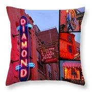 Downtown Halifax Throw Pillow