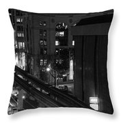 Downtown In Seattle Throw Pillow