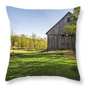 Downtown Metropolitan Etna Nh Throw Pillow by Edward Fielding