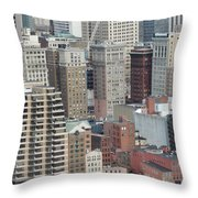 Downtown Pittsburgh From Mount Washington Throw Pillow