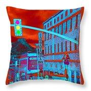 Downtown Prescott Arizona  Throw Pillow