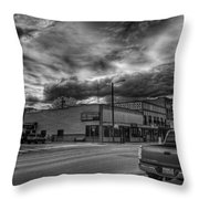 Downtown Sandpoint In Infrared 2 Throw Pillow