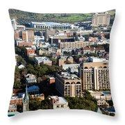 Downtown Savannah Throw Pillow