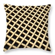 Downtown Skyscraper Throw Pillow