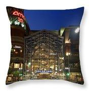 Downtown Spokane Washington Throw Pillow